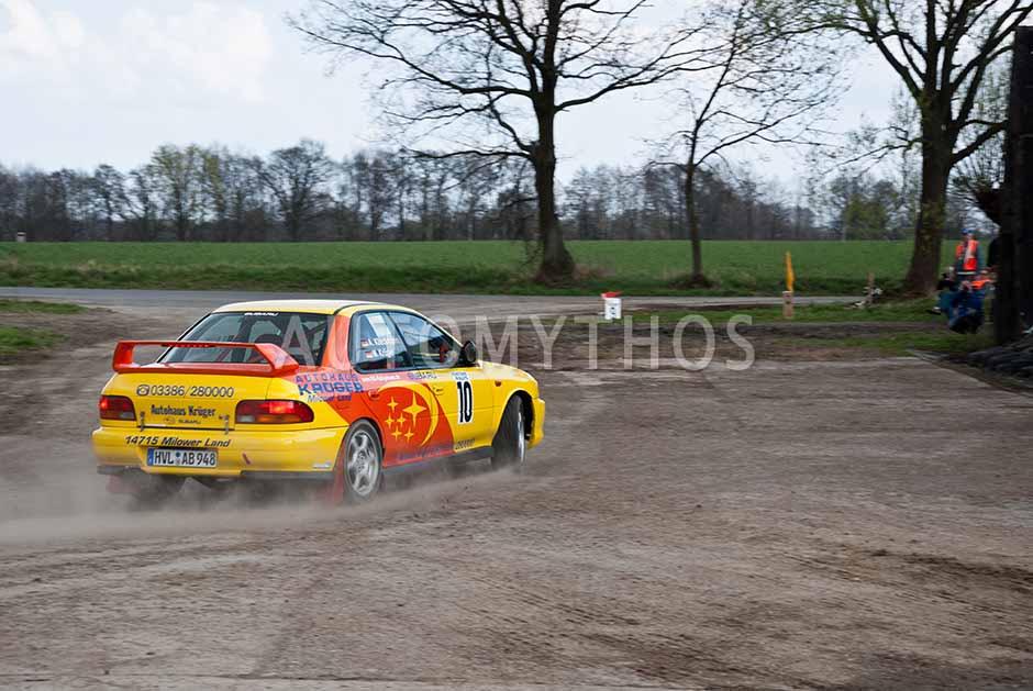 Automythos | 13. Fontane Rallye 2012 | 10 | Mirko Krüger & Andreas Klieckmann | Subaru Impreza WRX