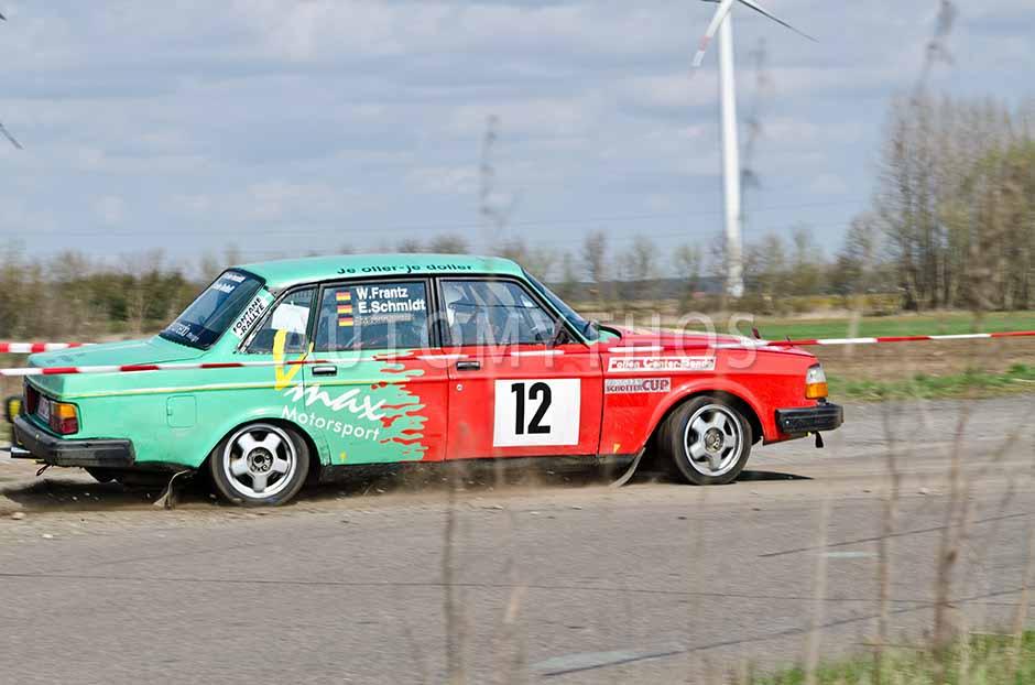 Automythos   13. Fontane Rallye 2012   12   Wolfgang Frantz & Ekkehard Schmidt   Volvo 244