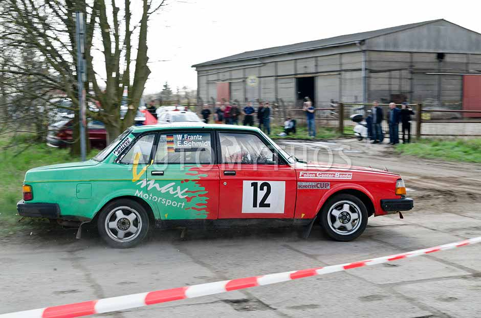 Automythos | 13. Fontane Rallye 2012 | 12 | Wolfgang Frantz & Ekkehard Schmidt | Volvo 244