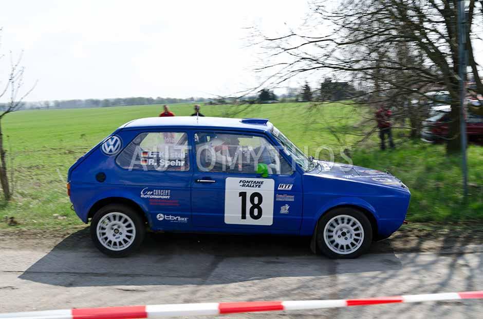 Automythos | 13. Fontane Rallye 2012 | 18 | Lars Kästel & Romy Spehr | Volkswagen Golf I GTI