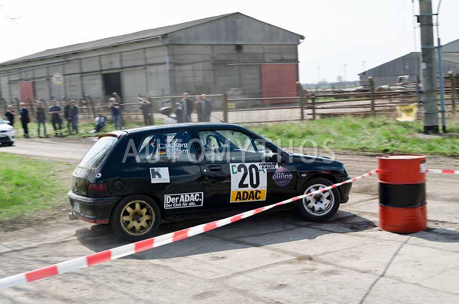Automythos   13. Fontane Rallye 2012   20   Stephanie Zorn & Andreas Karg   Renault Clio