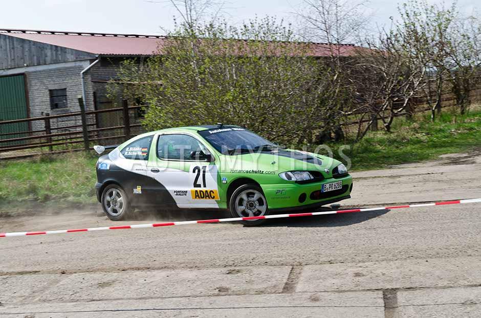 Automythos | 13. Fontane Rallye 2012 | 21 | Romano Schulz & Regina Bläske | Renault Mégane 16V