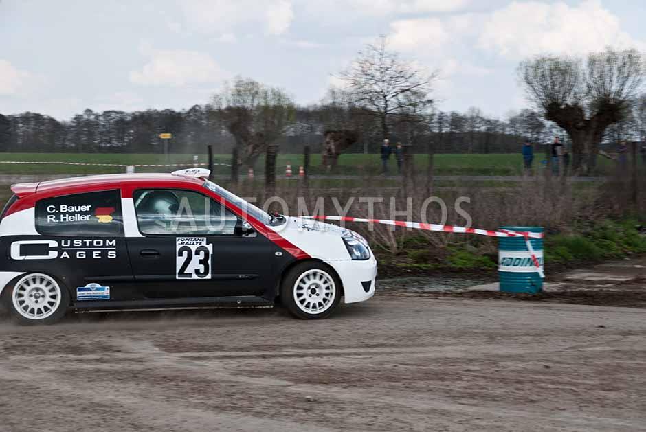 Automythos | 13. Fontane Rallye 2012 | 23 | Christian Bauer & René Heller | Renault Clio RS