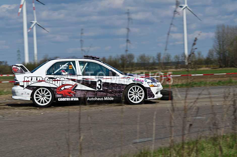 Automythos | 13. Fontane Rallye 2012 | 3 | Ken Milde & Michael Mai | Mitsubishi Lancer Evo 9