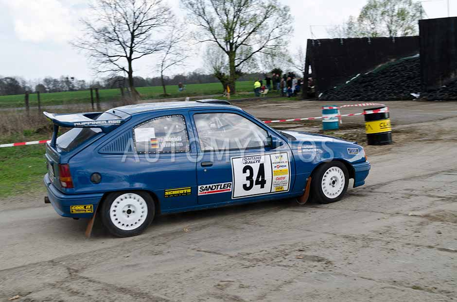 Automythos | 13. Fontane Rallye 2012 | 34 | Stephan Wilhelm & Jean Ihlefeld | Opel Kadett E