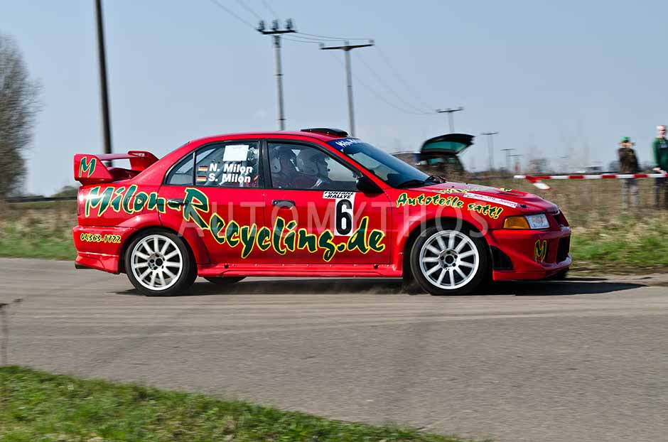 Automythos | 13. Fontane Rallye 2012 | 6 | Sönke Milon & Nina Milon | Mitsubishi Lancer Evo 6