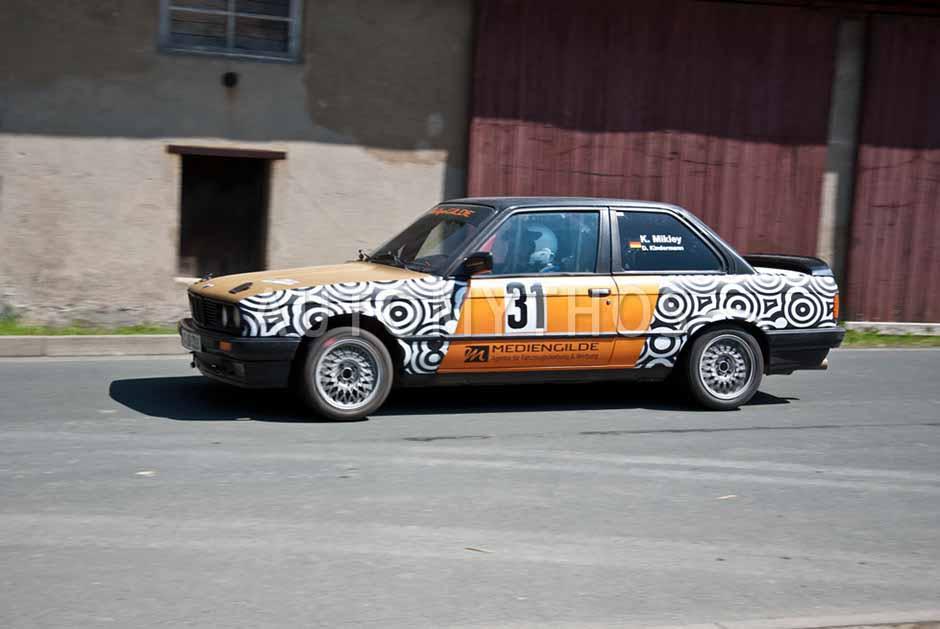 Automythos   7. Mittelsachsen Rallye 2012   31   Katrin Mikley & Dany Kindermann   BMW 318is E30