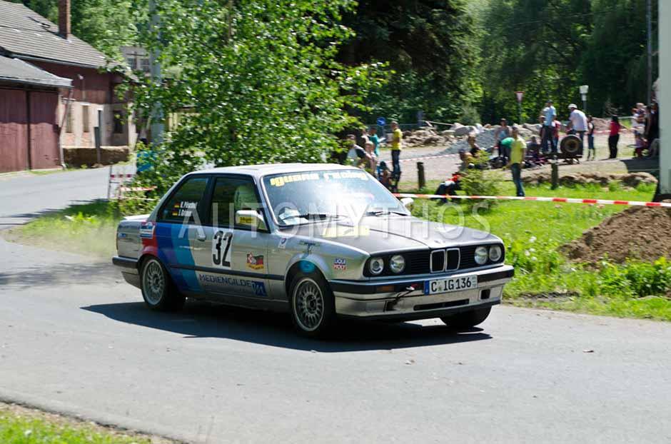 Automythos | 7. Mittelsachsen Rallye 2012 | 32 | Johannes Grimm & Katharina Pöschel | BMW 318is E30