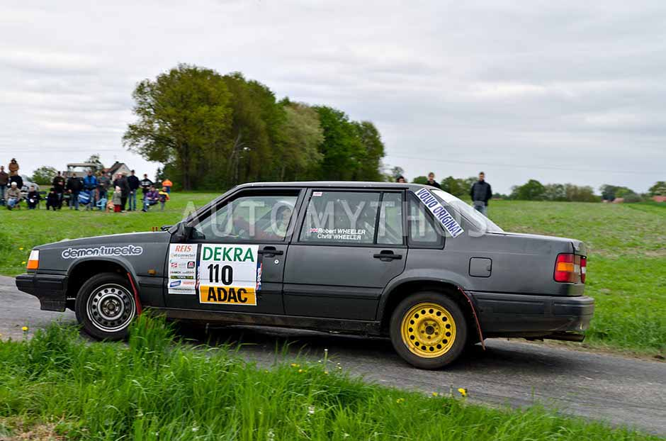 Automythos | 25. Pegasus Rallye Sulinger Land 2012 | 110 | Robert Wheeler & Chris Wheeler | Volvo 940 VOC