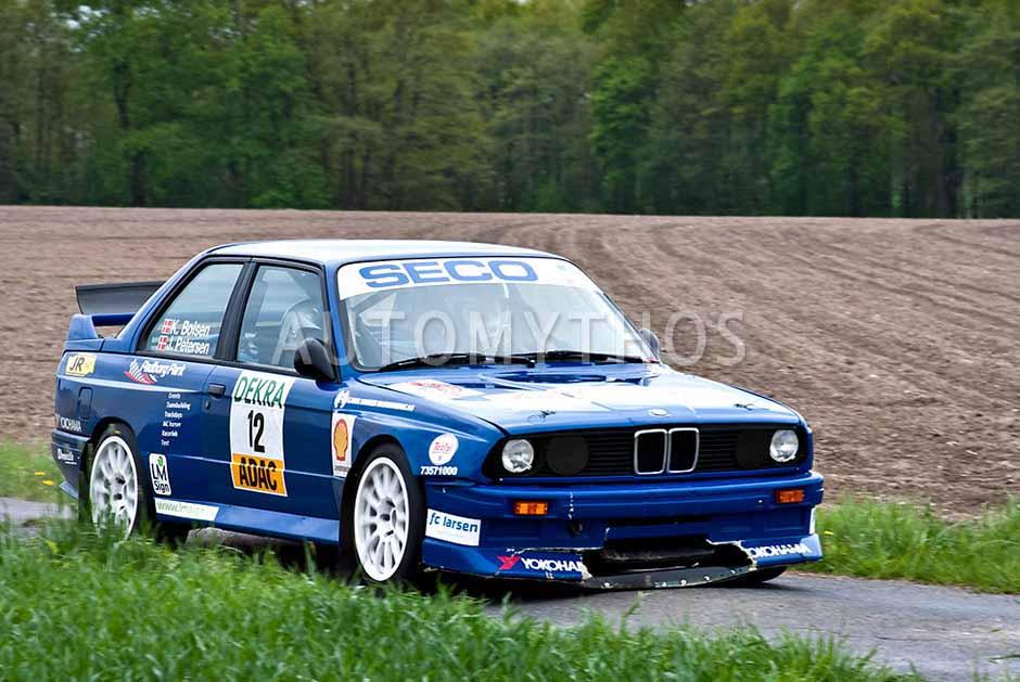 Automythos | 25. Pegasus Rallye Sulinger Land 2012 | 12 | Kim Boisen & Jesper Petersen | BMW M3 E30