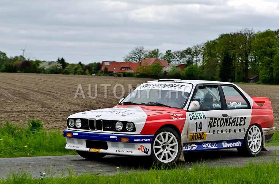 Automythos | 25. Pegasus Rallye Sulinger Land 2012 | 14 | Jan Nijhof & Davy Thierie | BMW M3 E30