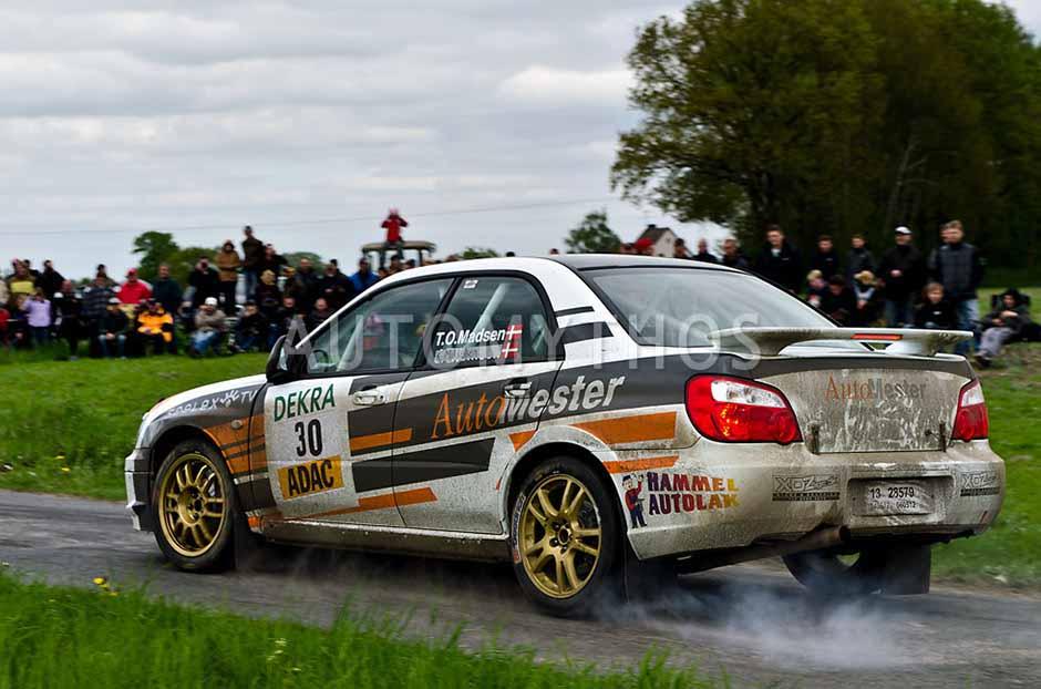 Automythos | 25. Pegasus Rallye Sulinger Land 2012 | 30 | Tom O. Madsen & Kaj Mikkelsen | Subaru Impreza WRX Sti