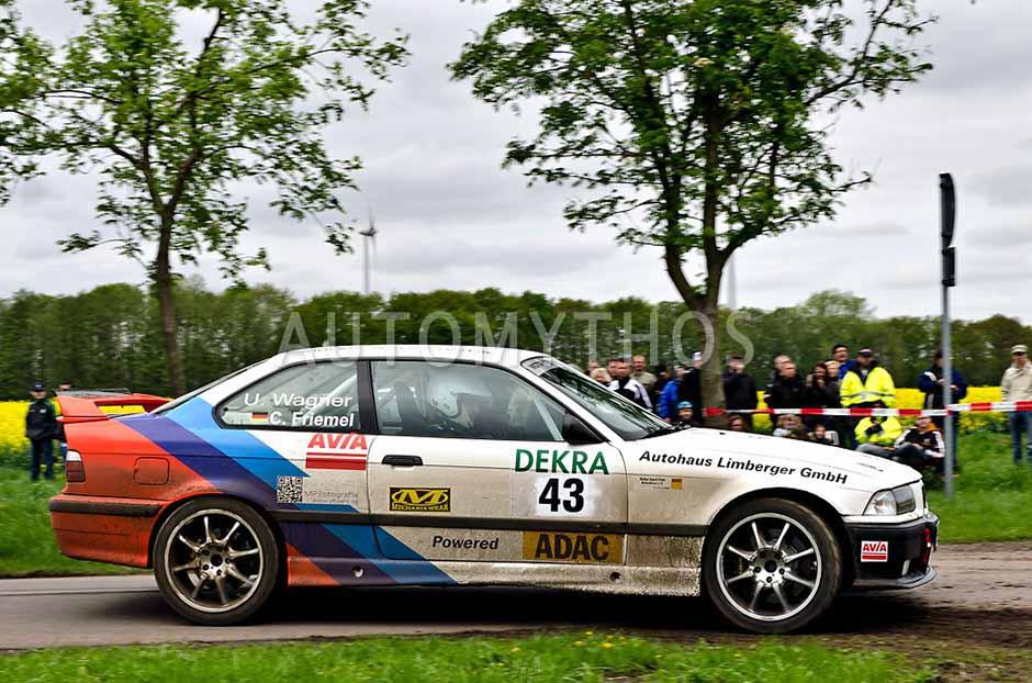 Automythos | 25. Pegasus Rallye Sulinger Land 2012 | 43 | Uwe Wagner & Christian Friemel | BMW M3 E36