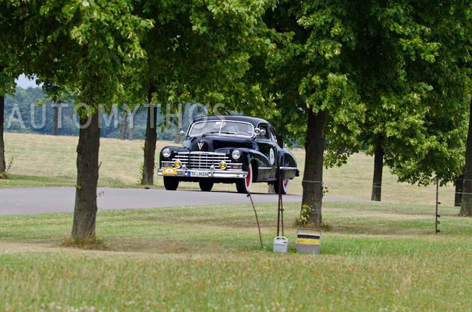 Automythos | 2. Avus Classic Rallye 2012 | 14 | Michael Heinrich & Jana Tetzke | Cadillac Series 62 Club Coupé