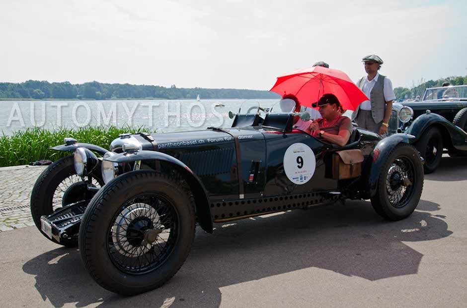 Automythos | 2. Avus Classic Rallye 2012 | 9 | Otto Bargezi & Janet Bargezi | Riley Monaco Special