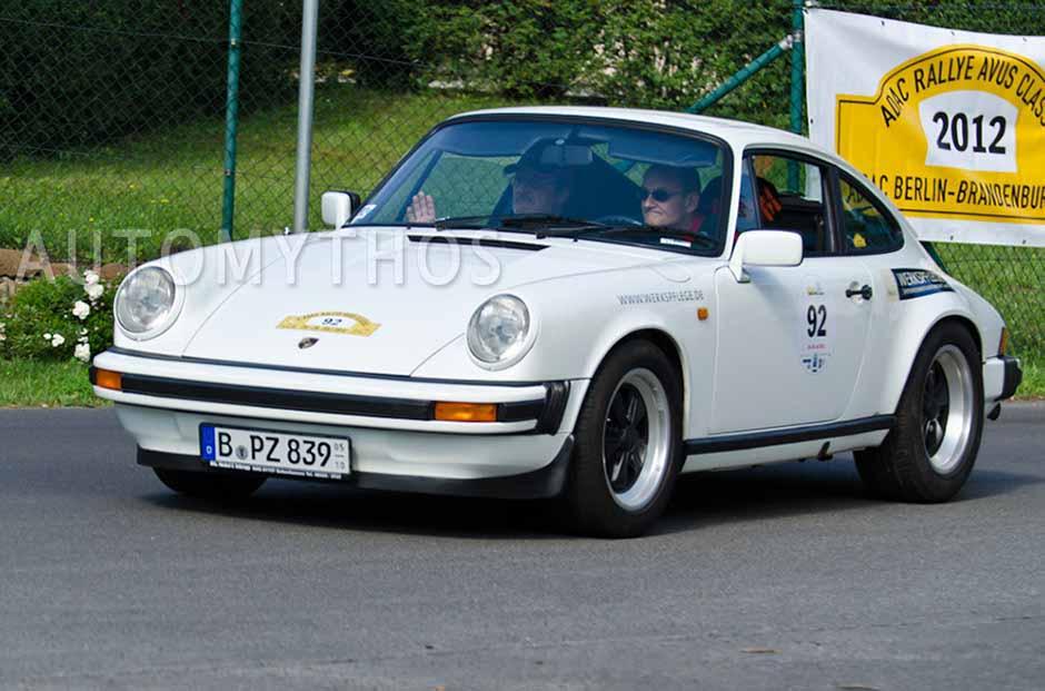 Automythos | 2. Avus Classic Rallye 2012 | 92 | Peter Zellmer & Michael Zellmer | Porsche 911 SC