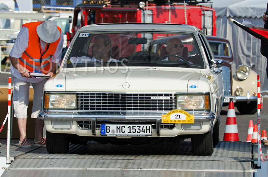 Automythos | 2. Avus Classic Rallye 2012 | 21 | Günter Schmidt & Rolf Janowski | Opel Admiral B