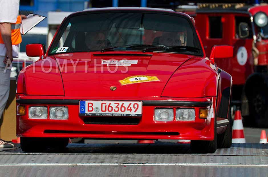 Automythos | 2. Avus Classic Rallye 2012 | 47 | Peter Kleffel & Wolf Böttcher | Porsche 911 Turbo \ Porsche 930 Turbo