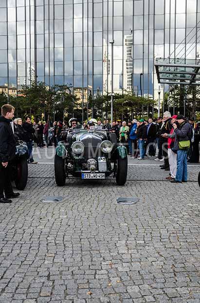 Automythos | 5. Hamburg Berlin Klassik 2012 | 10 | Claus Heinrich & Jürgen Klensang | Bentley 4.5 Litre Blower