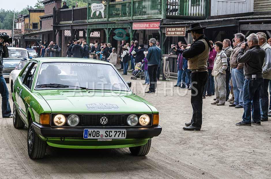 Automythos | 5. Hamburg Berlin Klassik 2012 | 11 | Axel Krusche & Eva Krusche | Volkswagen Scirocco I GT