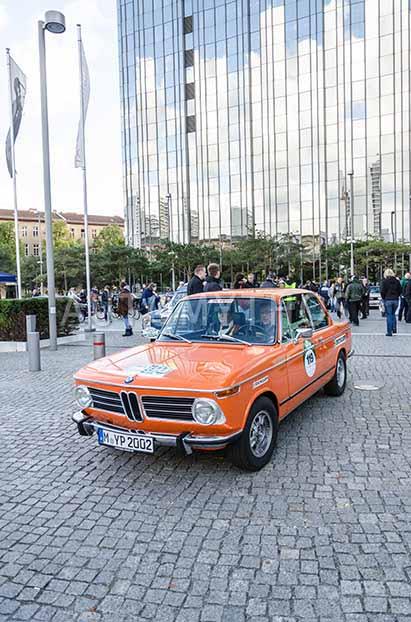 Automythos | 5. Hamburg Berlin Klassik 2012 | 119 | Manfred Wilczynski & Petra Wilczynski | BMW 2002 tii