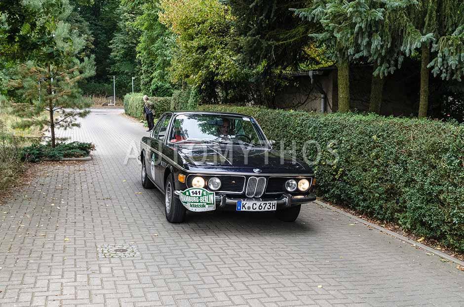 Automythos | 5. Hamburg Berlin Klassik 2012 | 141 | Georg Esterhues & Stephan Cimbal | BMW 3.0 CSi E9 Coupé