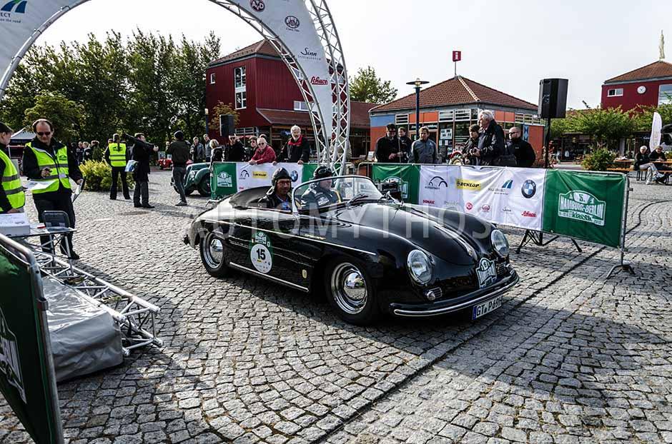 Automythos | 5. Hamburg Berlin Klassik 2012 | 15 | Thomas Pollmeier & Richard Boeckmann | Porsche 356 A 1600 Speedster