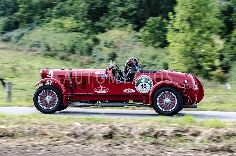 Automythos | 5. Hamburg Berlin Klassik 2012 | 16 | Willi Balz & Phong Lan Balz | Lagonda L45 R Le Mans