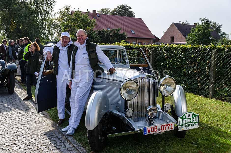 Automythos | 5. Hamburg Berlin Klassik 2012 | 2 | Otto-Ferdinand Wachs & Michael Mendl | Bentley 4.5 Litre Le Mans Vanden Plas