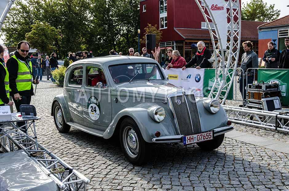 Automythos | 5. Hamburg Berlin Klassik 2012 | 24 | Henk Slagman & Armin Leppek | Lancia Aprilia