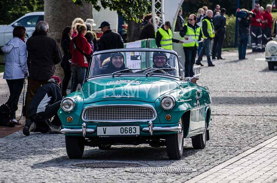Automythos | 5. Hamburg Berlin Klassik 2012 | 25 | Dirk Branke & Bernd Abel | Skoda Felicia Cabriolet