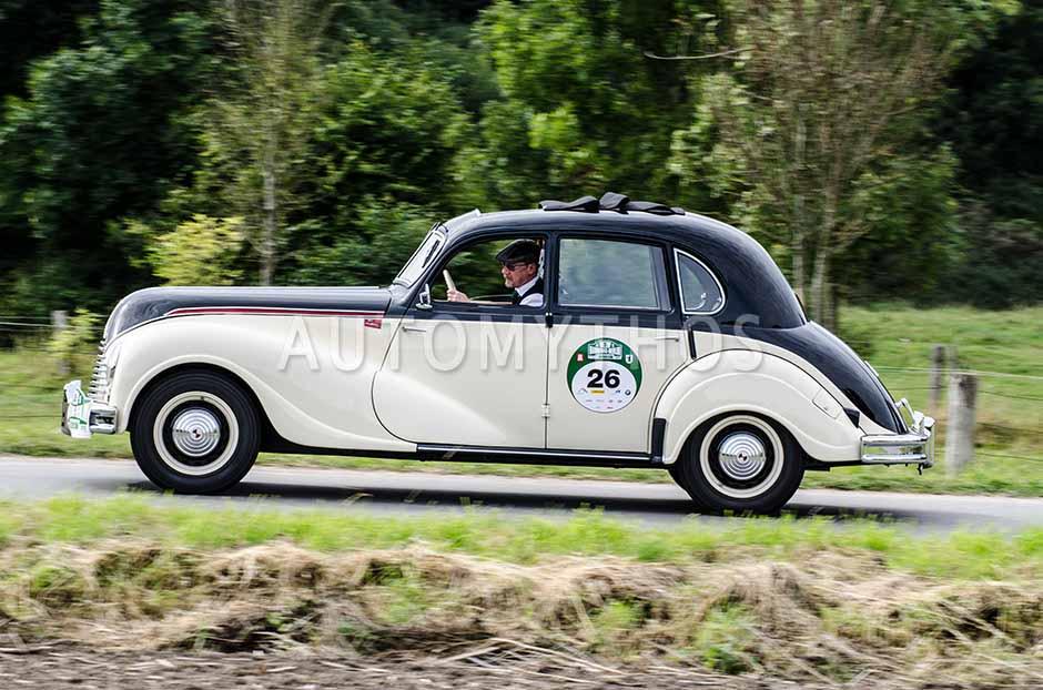 Automythos | 5. Hamburg Berlin Klassik 2012 | 26 | Volkmar Kruspig & Rita Kruspig | EMW 340-2