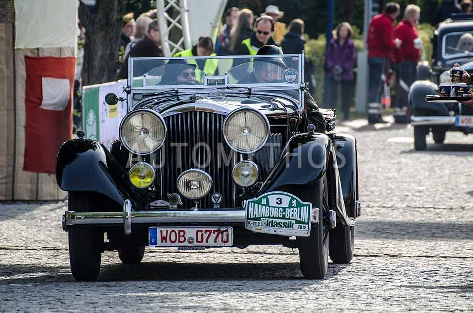 Automythos | 5. Hamburg Berlin Klassik 2012 | 3 | Dirk-Michael Conradt & Thomas Thieme | Bentley 3.5 Litre Vanden Plas