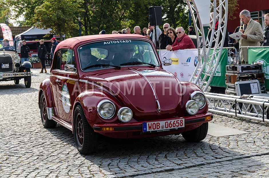 Automythos | 5. Hamburg Berlin Klassik 2012 | 8 | Michael Roth & Thure Fekken | Volkswagen Käfer 1303 Oettinger Cabriolet