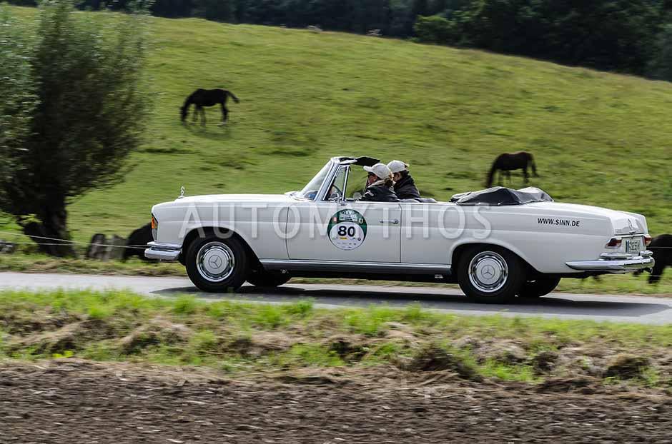 Automythos | 5. Hamburg Berlin Klassik 2012 | 80 | Simone Richter & Lothar Schmidt | Mercedes-Benz W111 220 SEb/C