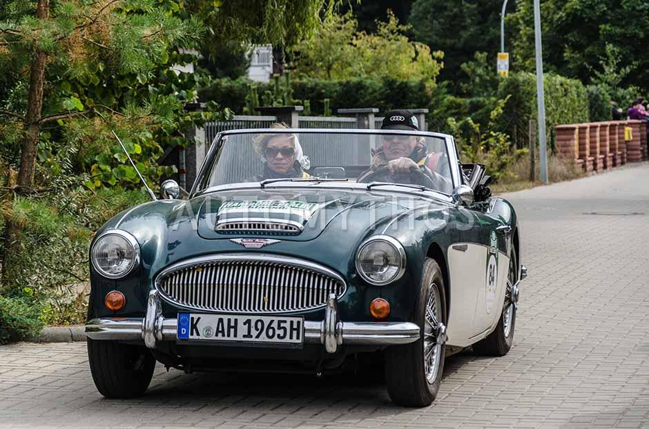 Automythos | 5. Hamburg Berlin Klassik 2012 | 84 | Ulrich Schwerhoff & Alix Zitzmann | Austin-Healey 3000 Mk III