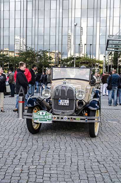 Automythos | 5. Hamburg Berlin Klassik 2012 | 9 | Dennis Jühe & Klaus Oehler | Ford Model A