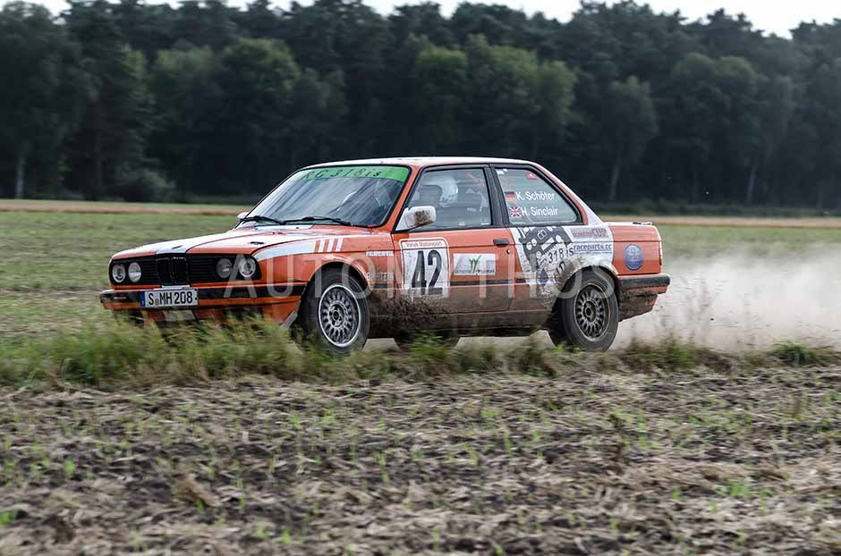 Automythos | 6./7. Wedemark Rallye 2012 | 42 | Kevin Schöter & Helen Sinclair | BMW 318is Cup E30