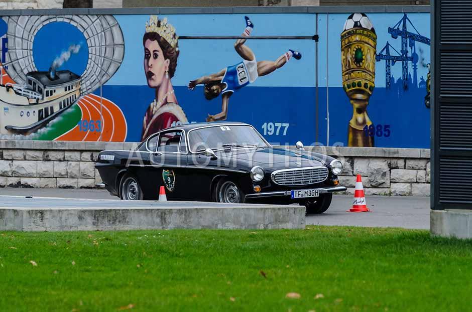 Automythos | 1. Herbstfahrt Berlin 2012 | 9 | Michael Heinrich & Jana Tetzke | Volvo P1800