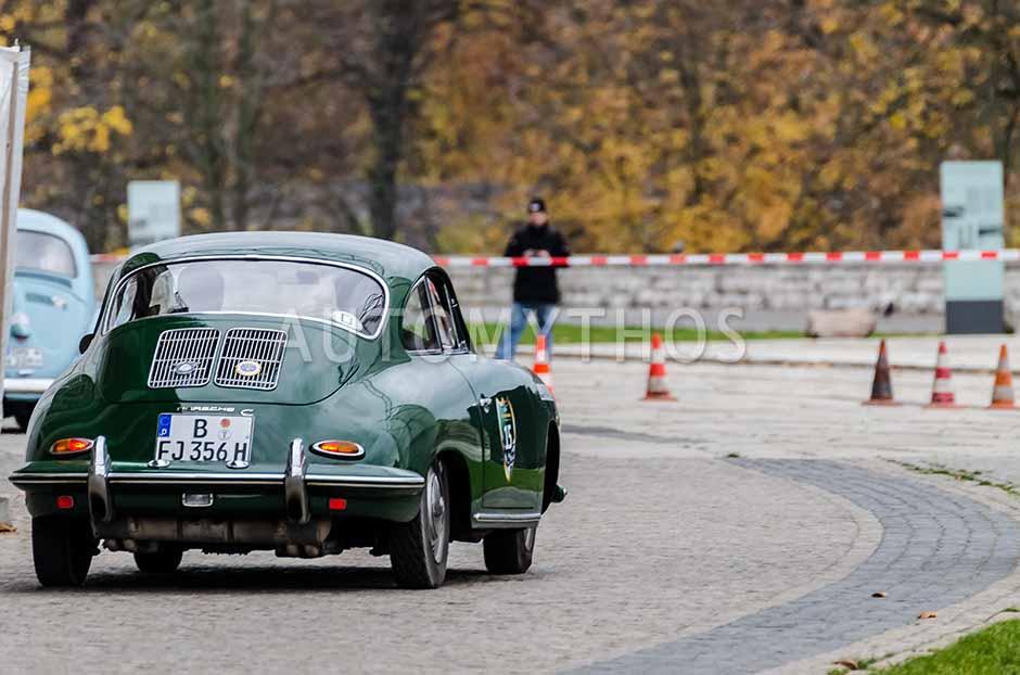 Automythos | 1. Herbstfahrt Berlin 2012 | 15 | Alexander Haller & Timo Joost | Porsche 356 C