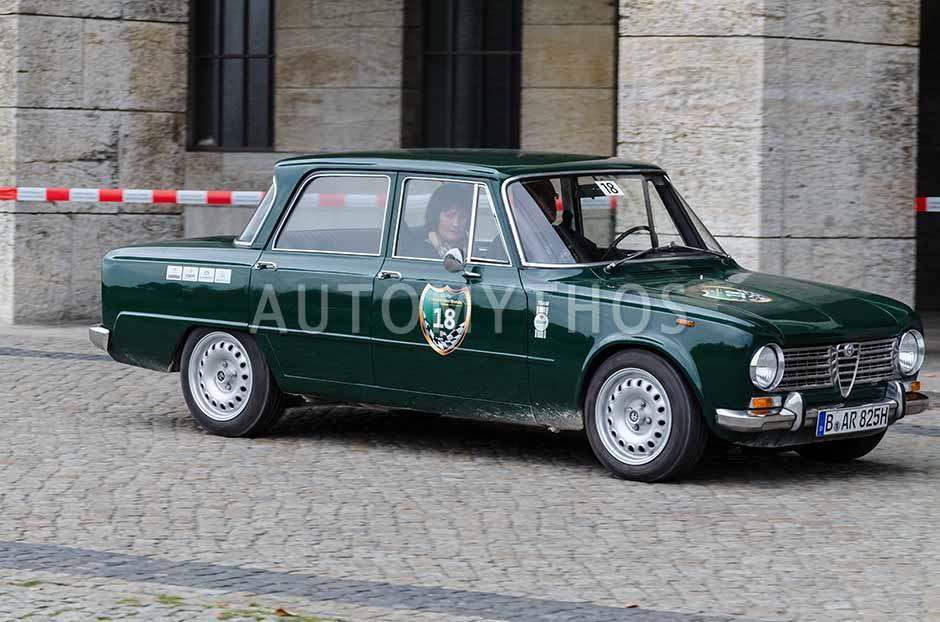 Automythos | 1. Herbstfahrt Berlin 2012 | 18 | Klaus Schwantes & Diana Grau | Alfa Romeo Giulia ti