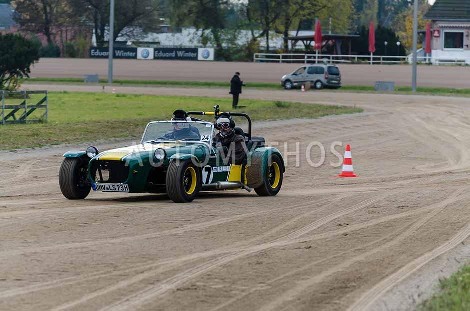 Automythos | 1. Herbstfahrt Berlin 2012 | 24 | Wolfgang Schröder & Detlef May | Lotus Super 7