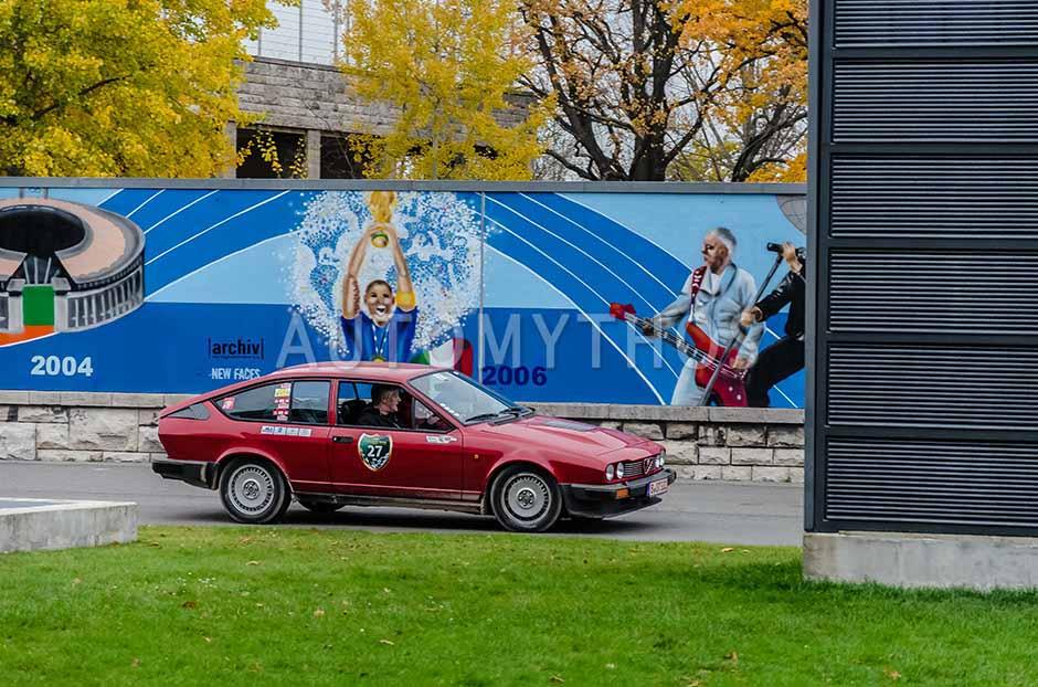 Automythos | 1. Herbstfahrt Berlin 2012 | 27 | Klaus Hoffmann & Oliver Hoffmann | Alfa Romeo GTV 6