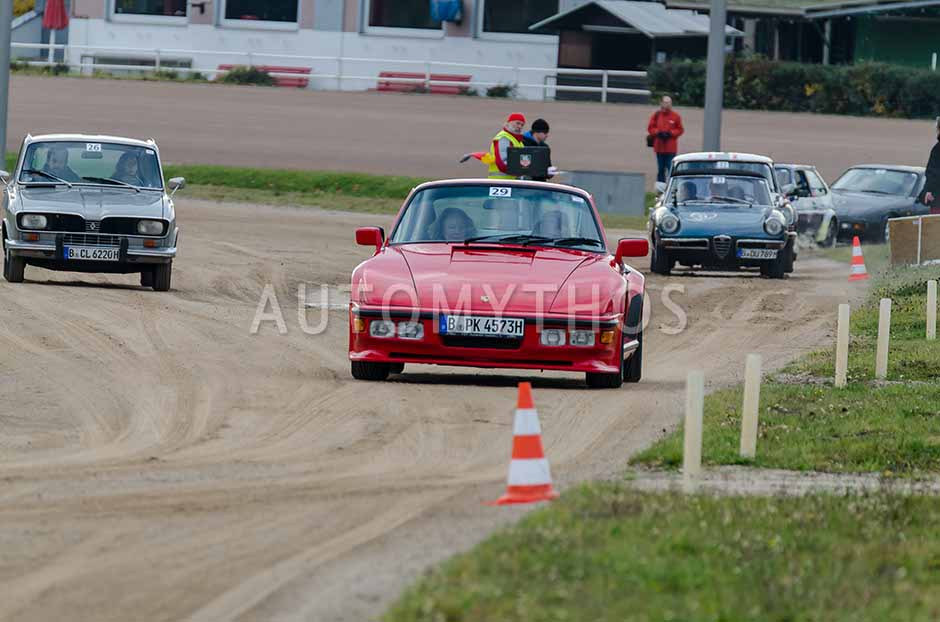 Automythos   1. Herbstfahrt Berlin 2012   29   Peter Kleffel & Marianne Schütt   Porsche 911 Turbo \ Porsche 930 Turbo