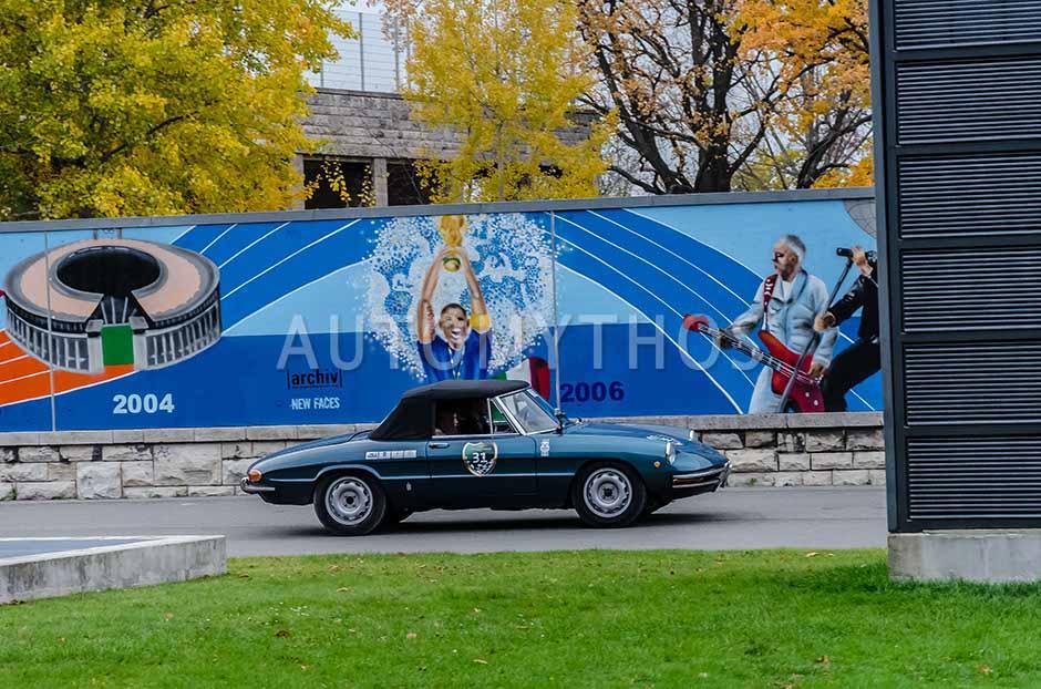 Automythos | 1. Herbstfahrt Berlin 2012 | 31 | Fabian Mellin & Co | Alfa Romeo Spider Duetto