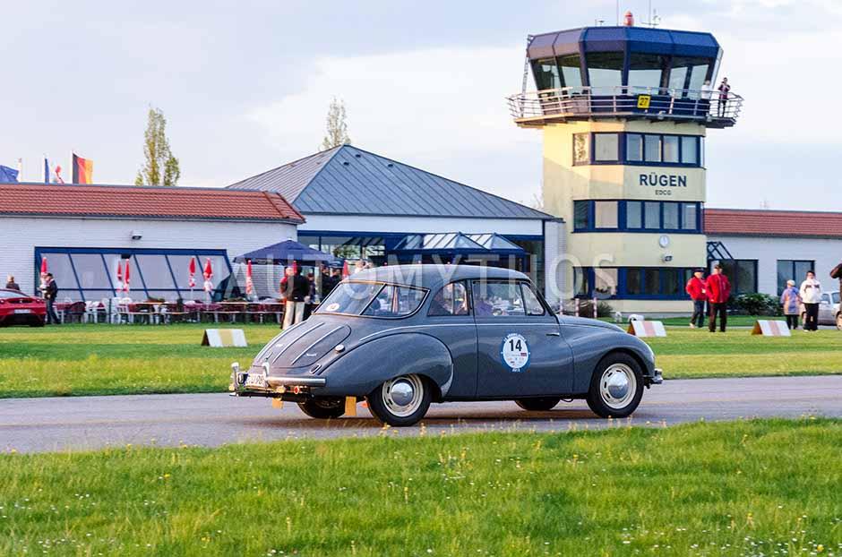 Automythos | 12. Rügen Classic 2013 | 14 | Udo Schwabe & Anke Schwabe | DKW F9-1 (3=6)