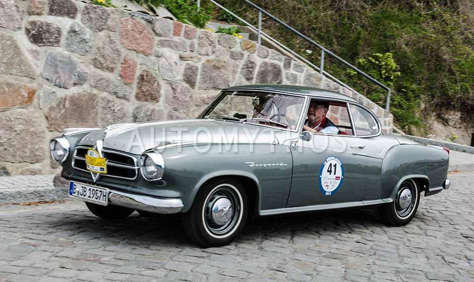 Automythos | 12. Rügen Classic 2013 | 41 | Karl-Heinz Busch & Jeanette Busch | Borgward Isabella Coupé