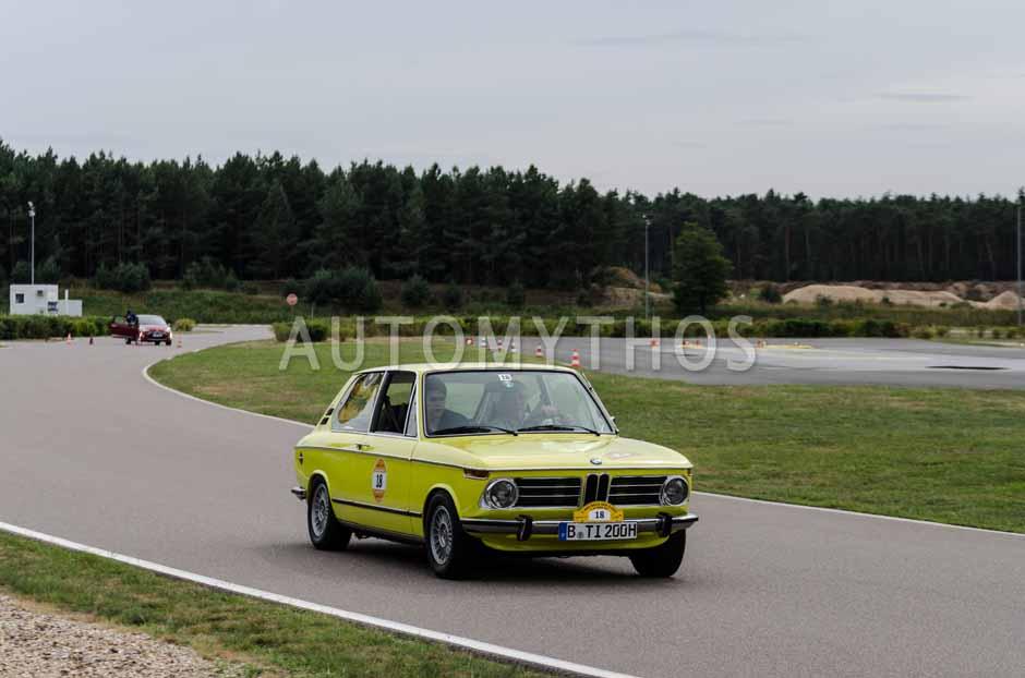 Automythos | 3. Avus Classic Rallye 2013 | 18 | Eugen Buch & Alexander Buch | BMW 2002 tii
