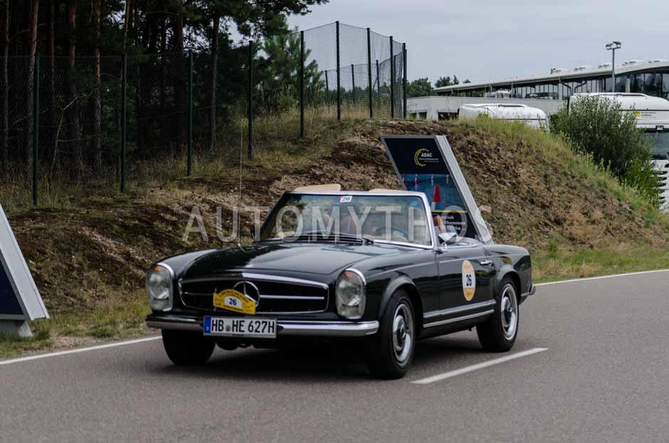 Automythos | 3. Avus Classic Rallye 2013 | 26 | Harald Emigholz & Johannes Emigholz | Mercedes-Benz W113 280 SL Pagode