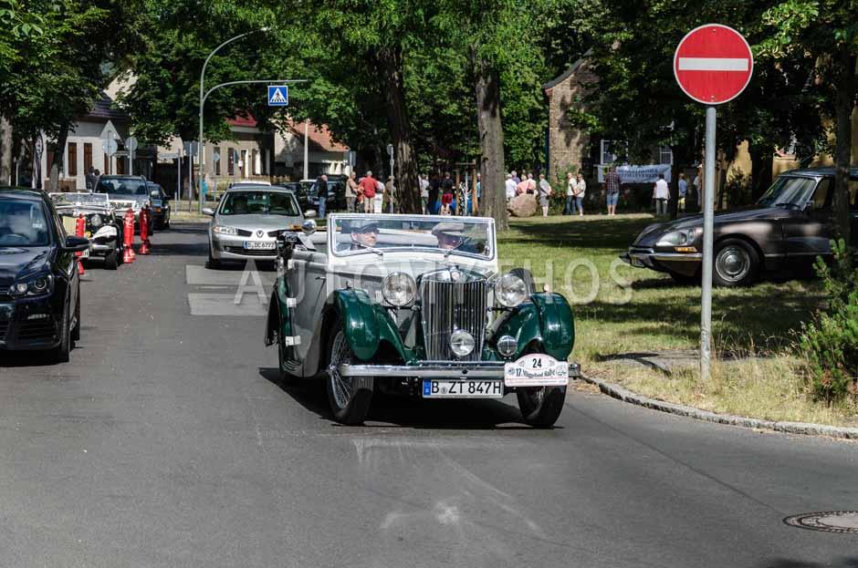 Automythos | 17. Müggelland Rallye 2013 | 24 | Andreas Radmer & Klaus Schuilder | MG VA Tickford